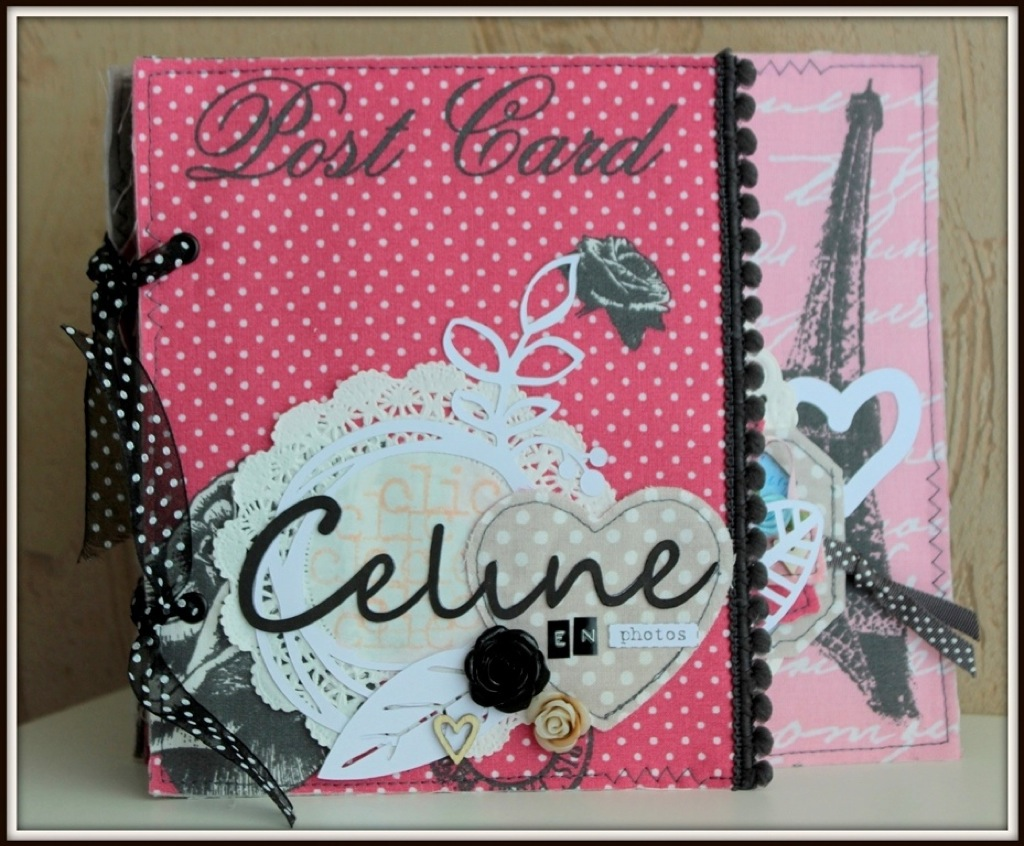 scrap-et-textile_realisation_album_tissu_post_card_from_paris_par_tribucosta_1